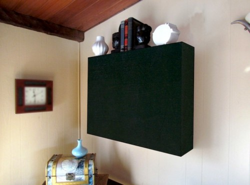 Smart diy air conditioner cover shelterness - How to hide window ac unit ...