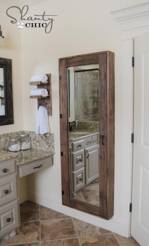mirror bathroom storage (via shanty-2-chic)