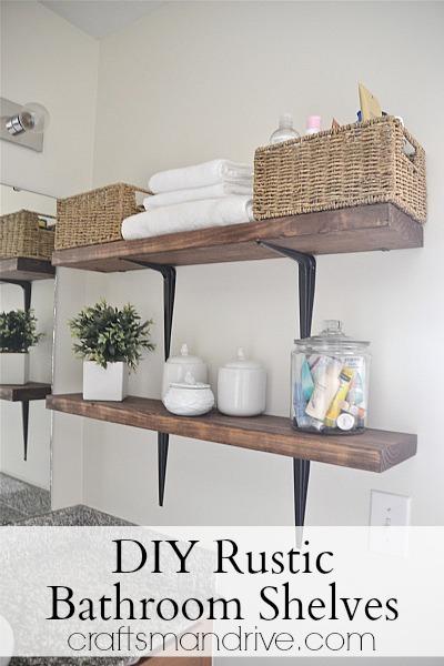rustic bathroom shelves (via craftsmandrive)