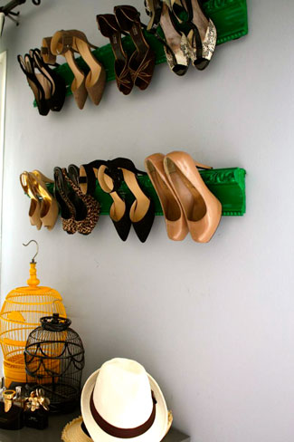8 Creative DIY Entry Shoes Storage Solutions
