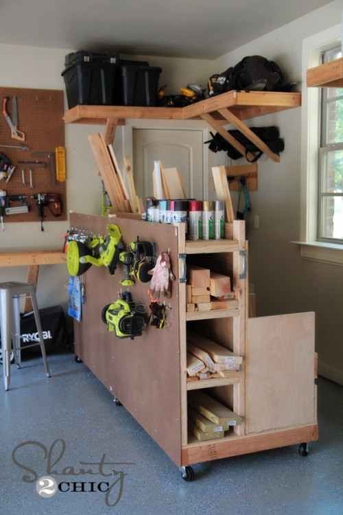 18 Smart Diy Garage Organization Projects Shelterness