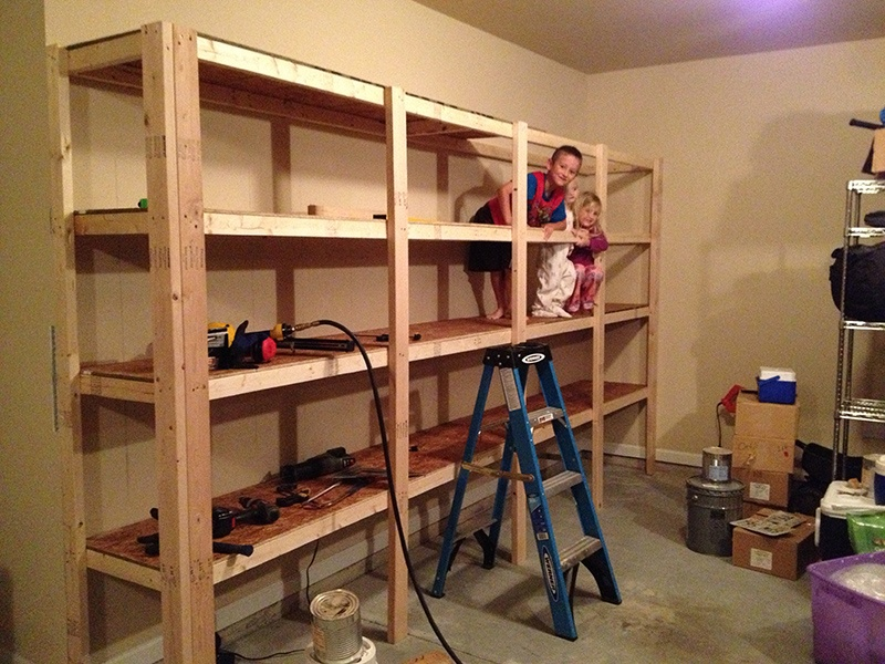 Picture Of Sturdy Shelves