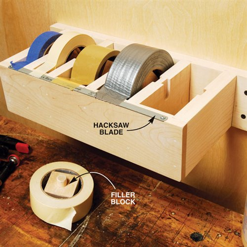 jumbo tape dispenser (via popularwoodworking)