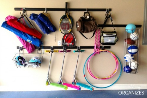 garage organization (via maryorganizes)
