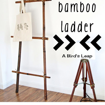 bamboo ladder (via abirdsleap)