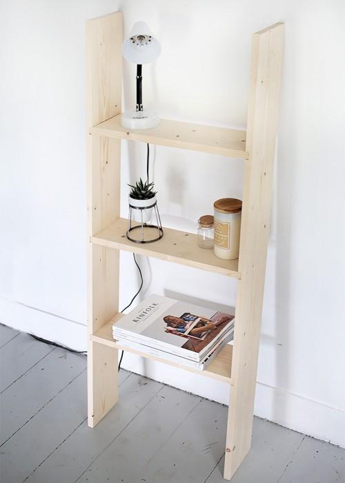 ladder shelf (via themerrythought)