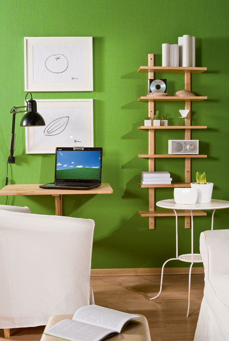 Smart Home Office That Can Act As A Living Room
