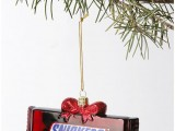 Snickers Christmas Tree Ornament