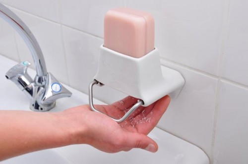 Comfortable To Use Block Soap Dispenser