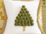 pompom tree pillow (via onsuttonplace)