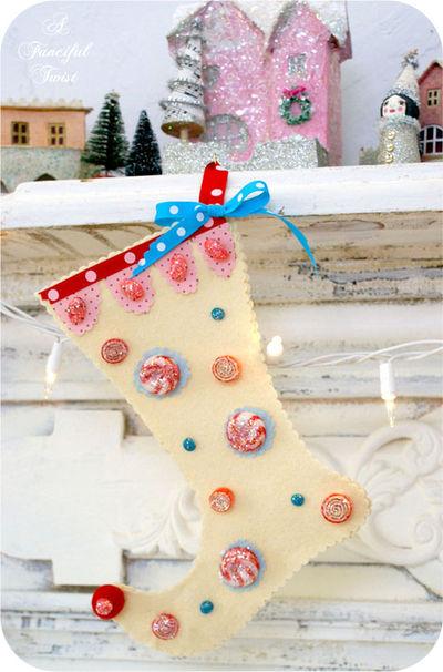 Sparkling Christmas Stocking
