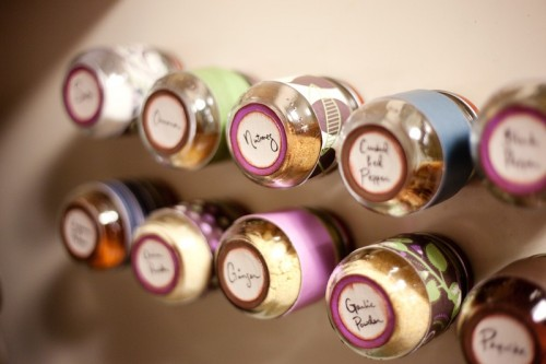 Spice Storage In Baby Food Jars
