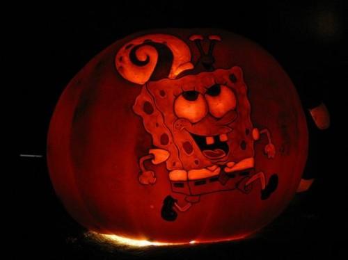 Spongebob Squarepants Pumpkin