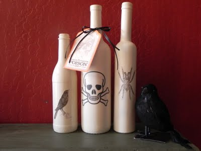 Spooky Diy Halloween Bottles