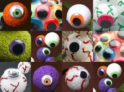 Spooky Eyeball Bouquet For Halloween Parties