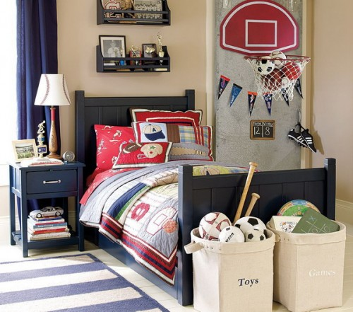 Sport Themed Boys Bedrooms To Inspire You