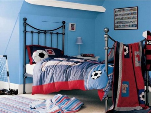 Sport Themed Boys Bedrooms