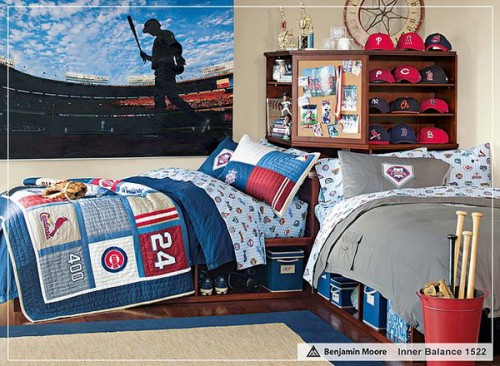 Epic Sport Themed Boys Bedrooms