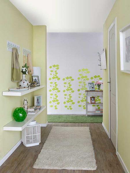 Spring Inspired Hallway Design Inspiration