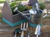 dipped garden tools
