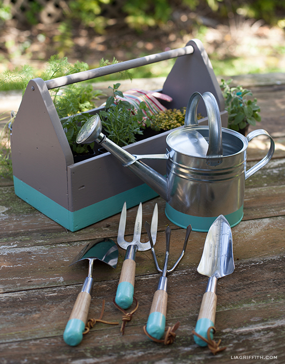 dipped garden tools