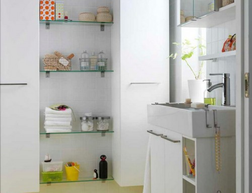 Storage Ideas In Small Bathroom : storage in a small bathroom  - Aquiesqueretaro.Com