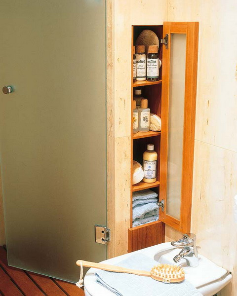 clever built-ins make perfect sense when it comes to wall storage organization