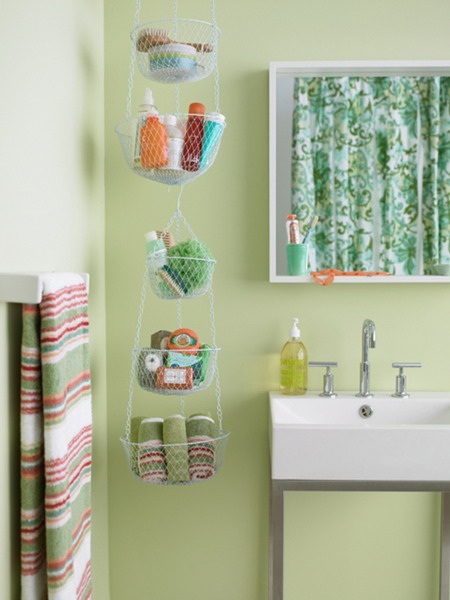 Awesome 31 Creative Storage Idea For A Small Bathroom Organization