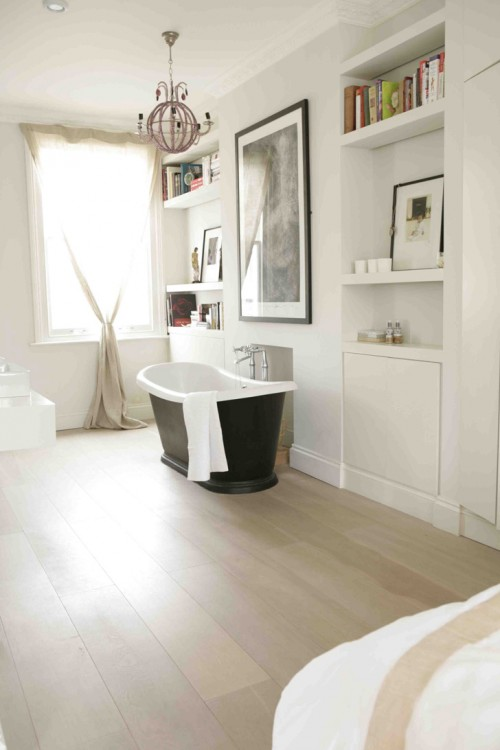 30 Ideas To Use Storage Niches In A Bathroom