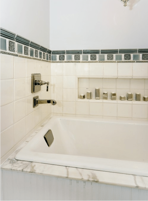 Storage Niches In Bathroom