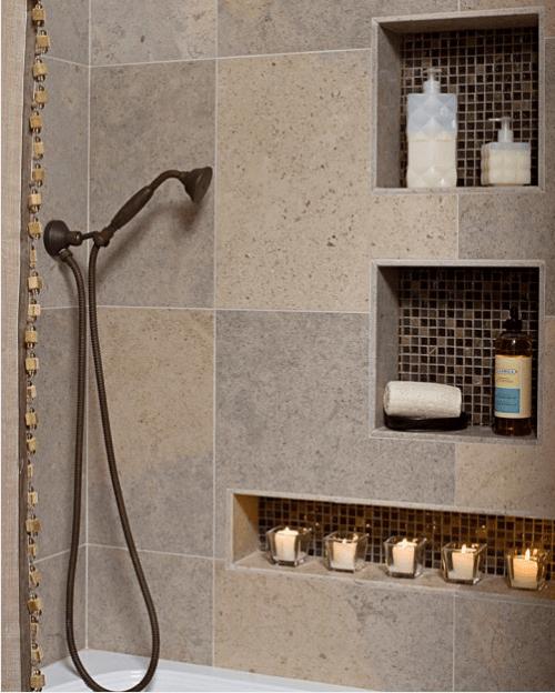 30 Ideas To Use Storage Niches In A Bathroom