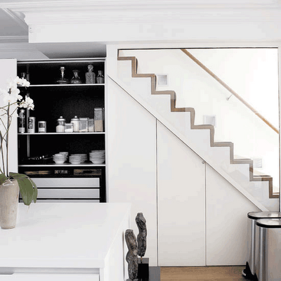 Storage Under Stairs | Shelterness