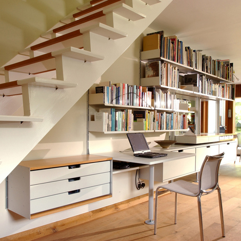 10 Under Stairs Storage Space Ideas