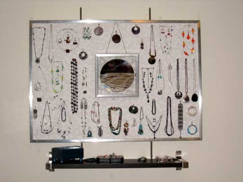 10 Ideas To Store Jewelry On Walls