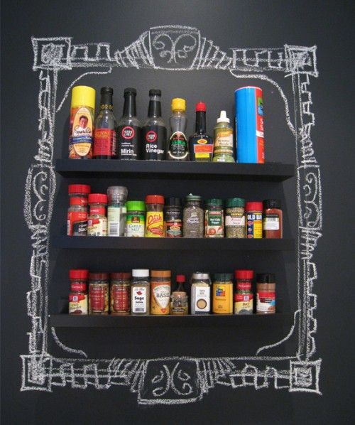 Stroring spices on a wall 1 500x598
