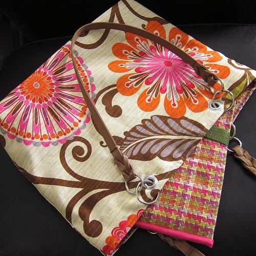 Stylish And Colorful DIY Laptop Bag