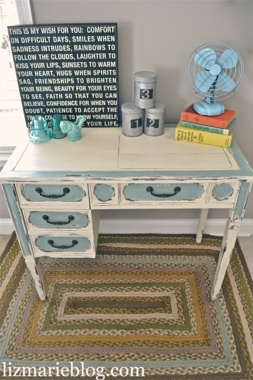 8 Stylish And Cool Diy Shabby Chic Desks