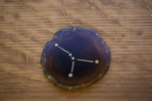 Picture Of stylish and durable diy gilded agate ornaments  7