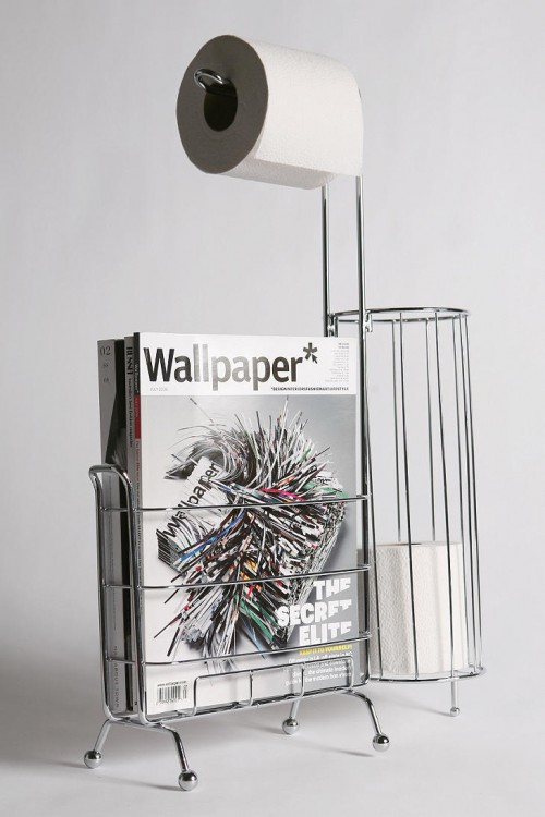 Stylish And Functional Wc Caddy