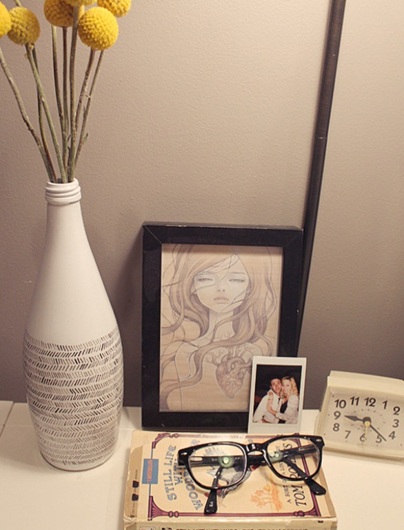 Stylish Diy Black And White Vase