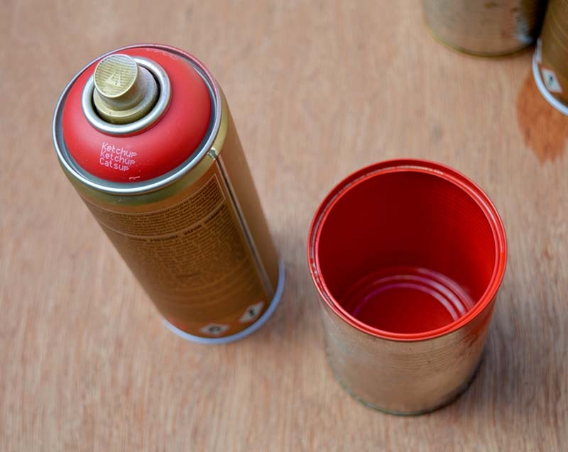 Picture Of stylish diy copper and denim craft caddy  3
