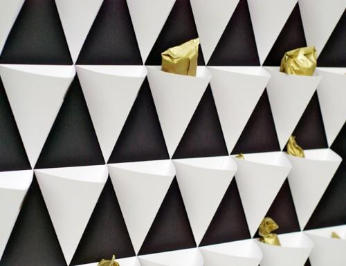 Stylish DIY Geometric Advent Calendar