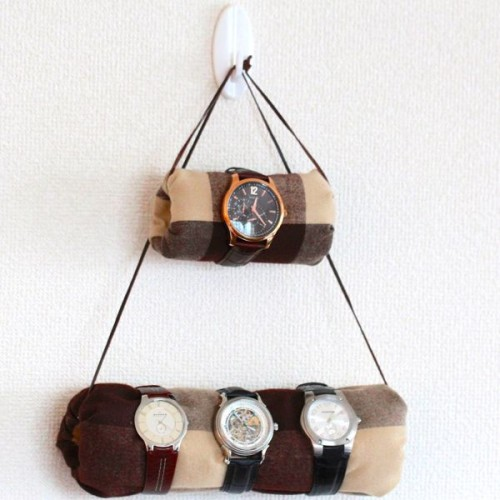 Stylish DIY Hanging Watch Holder