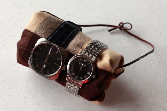 Stylish Diy Hanging Watch Holder
