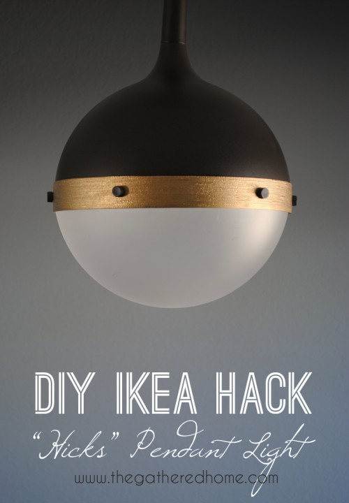 Stylish DIY IKEA Vaster Lamp Hack