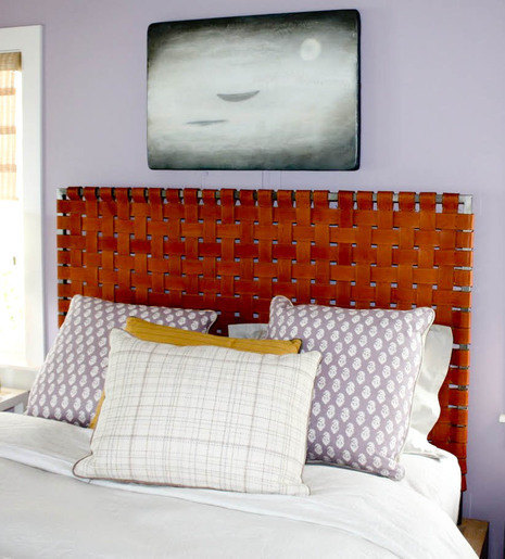 5 Stylish DIY Leather Headboards