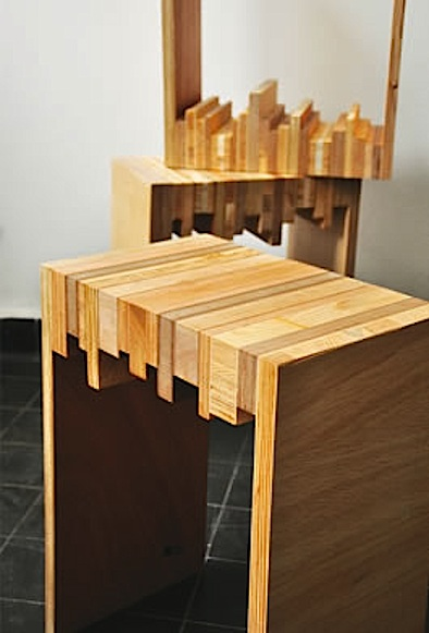 Stylish Diy Stools Made Of Wood Scraps