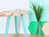 stylish-diy-tropical-leaf-side-table-6