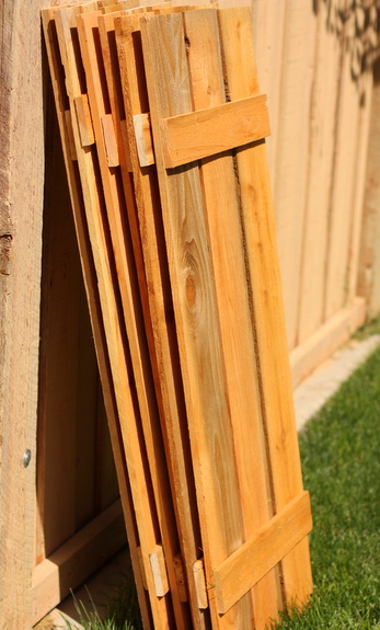 Stylish Diy Wood Shutters