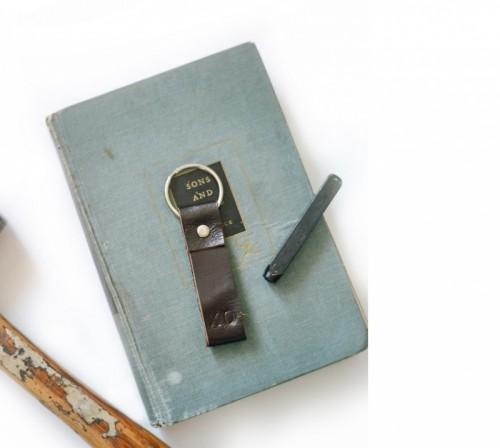 Stylish Yet Simple DIY Leather Key Ring